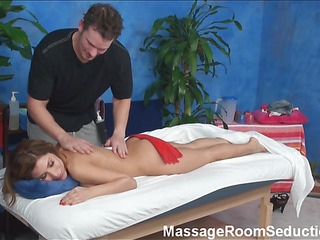 The mission to stay unapproachable after spending time examining how attractive natty masseurs are pounding beautiful hotties who came to massage saloon not for massage only! Watch this fascinating action now!