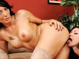 XXX Lesbos! Watch A Beauty Licking Her XXX GF's Moist Bawdy Cleft