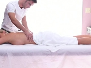 Sweet honey gets her sexy body massage with an increment of drilled