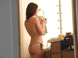 Cute hottie is similar to one another priceless figure previous to caressing wet twat