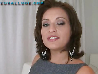 Makalie has a quondam company and is looking for a very peculiar quondam employee to demo her product in womens homes. Ball Batter Facial Solutions sends out guys to get blowjobs and dump large save up of cum on womens faces then feed 'em the cum. My dream jo