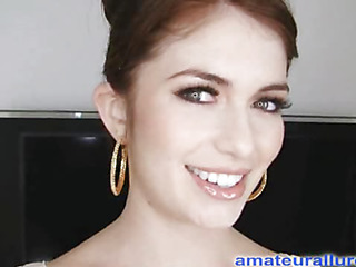 Miley is eighteen years old, very cute and this babe has returned for her first cum facial ever! This is the second time Miley has visted AmateurAllure.com, and I am going get my discharged at her this time. This Babe has an amazing, constricted body and
