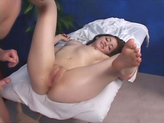 Amazing brunette babe get their way monster curves fucked abiding