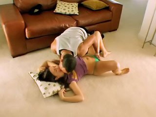 Appealing teen Brandi acquiring screwed by dirty accidental man