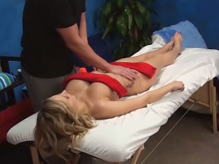 Amazing busty blonde chick sucking added to getting drilled hard