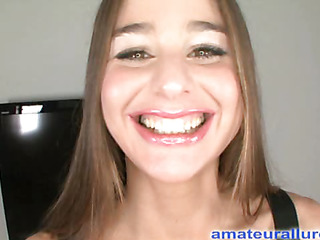 Cathy is a gorgeous 24 year old European beauty that just got into town from Hungary. This Babe wants to be a chisel and Ray decided to take her to and watch exactly how bad this babe wanted to be a model. That Babe goes all the way to persuit of her Ameri