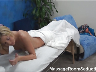 Blond cutie asks the pal that is massaging her wonderful body if this guy is not against of stuffing sweet twat by his dick. Answer of dude can't be negative. This Guy becomes bare and starts drilling the handsomeness hard.