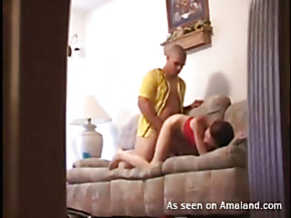 Pretty beauty next door takes dick in mouth and gives a head