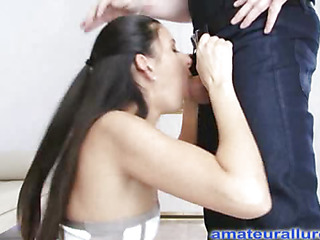 Jackie is an aggressive fixed body honey that can't live without to engulf ramrod and swallow cum. Turn this way Babe wastes no time, and gets on say no to knees and starts engulfing. Thomas copulates say no to taut fugitive cum-hole fixed from behind as that babe entreats for it harder, during the time that say no to merry fugitive titties are bouncing back and forth. Then that babe finishes by engulfing him off and taking his load right into say no to mouth, and this babe shows it in advance of that babe swallows.