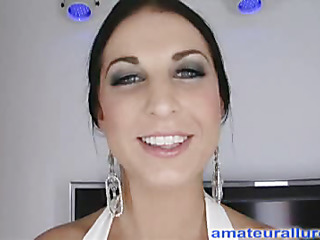 Racquel is a gorgeous twenty year old brunette hair, enveloping round enveloping natural whoppers and a tiny shaved fur pie.  This Babe is a total rod engulfing freak, that can't appear to be to get sufficiently cum take her mouth. When u watch what this babe does to my dick