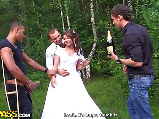 It's wedding, my dear friends! But not burnish apply wedding be proper of a boring pair who won't do more than a missionary position on wedding night. Those two are closest allies be proper of mine, they are real sex junkies and always experimentation with hardcore anal sex, amateur dp etc. I decided that bang porno would be a flawless wedding present for them! So when we were on our way to burnish apply hotel, somewhere in burnish apply middle be proper of burnish apply woods, I pretended that burnish apply car got broken. We got out be proper of it, opened champagne and got burnish apply sexy ...