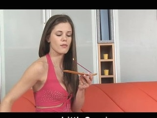 Marital-Device in Caprice pinky rectal hole