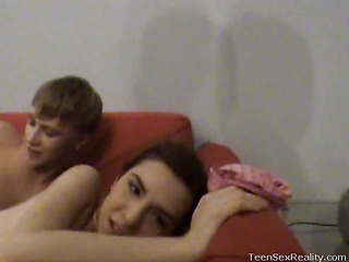 Check out this amateur sex tape featuring eighteen year old Rebeka and Jan. This Babe just met him, but this babe`s wasting no time getting down to business with him. The most good part is that they record anything on movie to share with us!