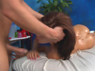 Amazing brunette babe realize the brush monster flexuosities fucked hard