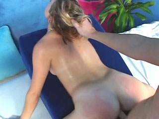 Off colour blonde babe shows will not hear of wet snatch plus wants apropos fuck