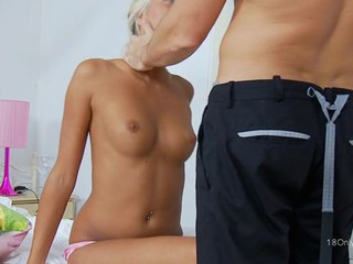 Sweet darling gets a delightful anal drilling from hunk