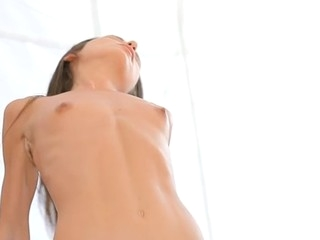 Beauty performs blow- and tugjob in advance of wild vaginal screw