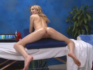 Gorgeous cute teen want hard intercourse after hot rub down