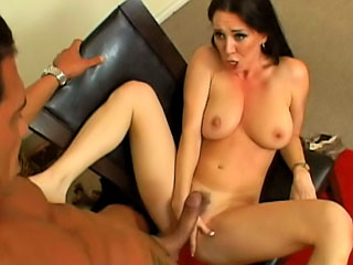 Gorgeous milf connected with careful special getting fucked hard by big dick