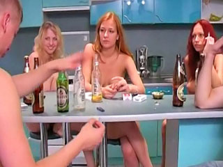 Gorgeous girlhood and hot guys have an amazing groupsex party