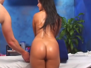 Brunette newborn has say no to shaved grab fucked away from a heavy dick
