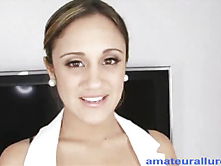 `Lynn is a twenty one savoir faire old nursing partisan from sunny Florida. This is her first on camera` sex scene increased by this doll does a great job. Oral-Service that is... This Babe drops down increased by starts engulfing my knob increased by then presents her cum-hole for a good h``