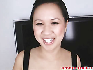 Carmina is a gorgeous twenty year old Oriental student, with a cute little body and an extreme longing for pecker. It appears that Carmina has sucked off about fifty guys! That's a large number for effigy still in college. That Babe is too blessed with