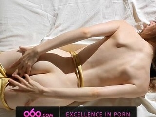Sex prayer chick showing delights and caressing wet bawdy cleft