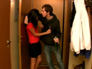 Pretty firsthand teen rimming and giving head to top off a few dirty guys