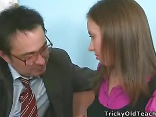 It's time to study, so Tania took off her pants and showed the teacher her wet and insatiable cunt ready be expeditious for hardcore fucking.